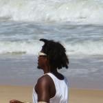 Beau brésilien sur la plage