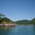 En route vers Ilha Grande Brésil
