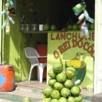 Lanchonete Roi de la coco Brésil