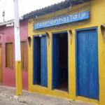 Maisons colorées Lençois Brésil