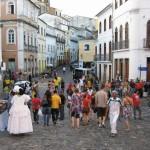 Quartier historique Salvador de Bahia Brésil