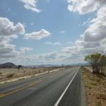 Route de Bahia Brésil