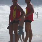 Sauveteurs en mer à Ipanema