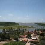 Vue du phare à Lençois Maranhenses