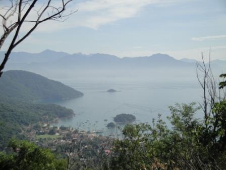 Vue sur le port Ilha Grande