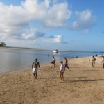 Foot sur la plage