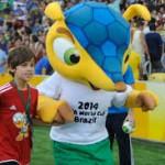 Fuleco - le Tatou mascotte de 2014