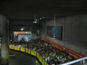 Fila metro SP